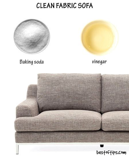 How To Clean Fabric Sofa Fabric Sofa Cleaning Hacks Clean Sofa