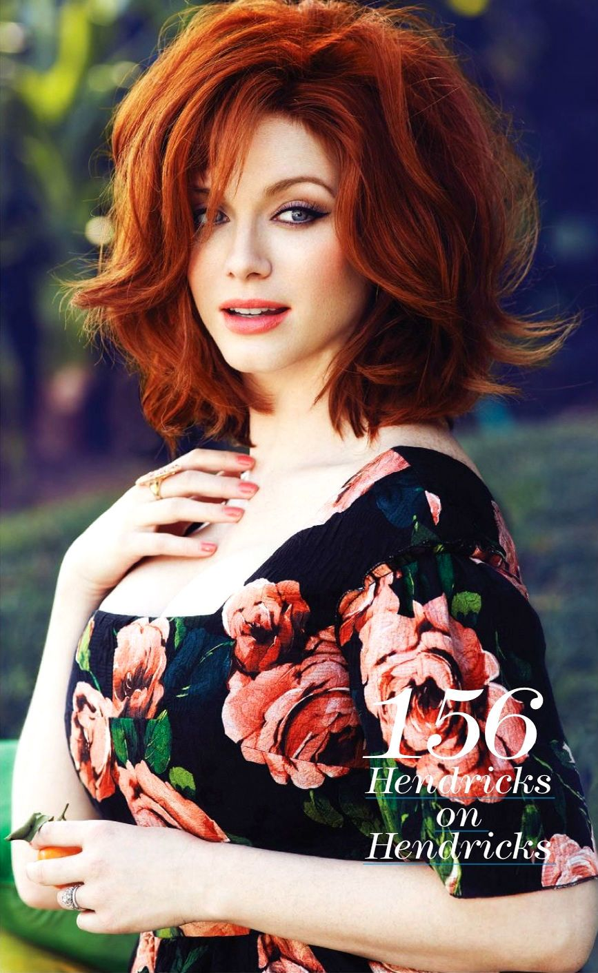 Oh no they didnut queen christina hendricks looking springy and