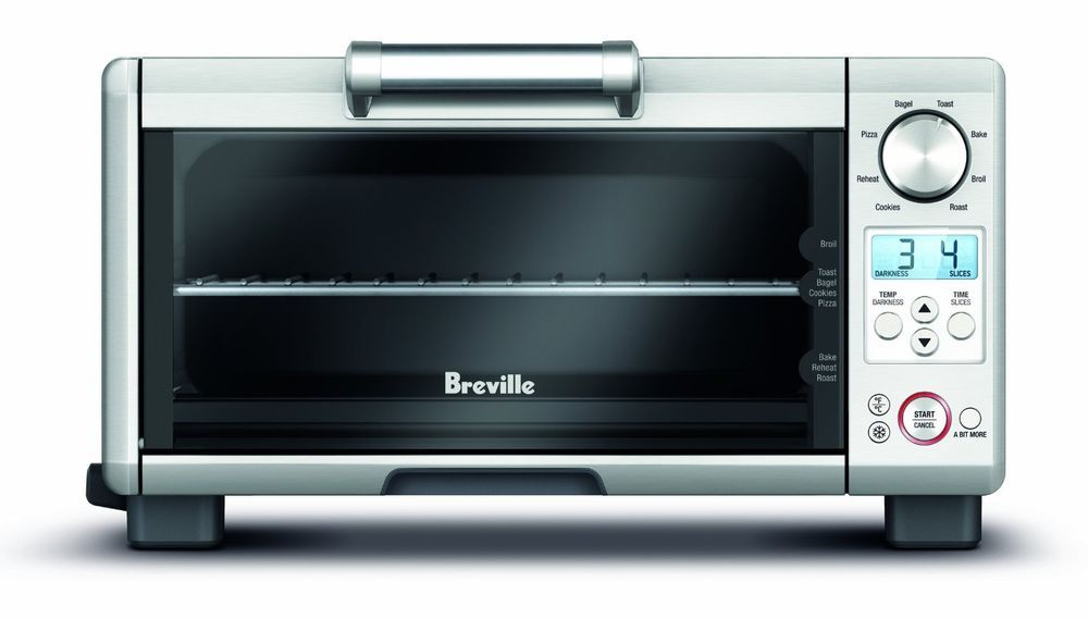 Mini Smart Oven Small Kitchen Cooking Appliance Element Iq Technology Toast Food Breville Breville Toaster Oven Smart Oven Toaster Oven Reviews