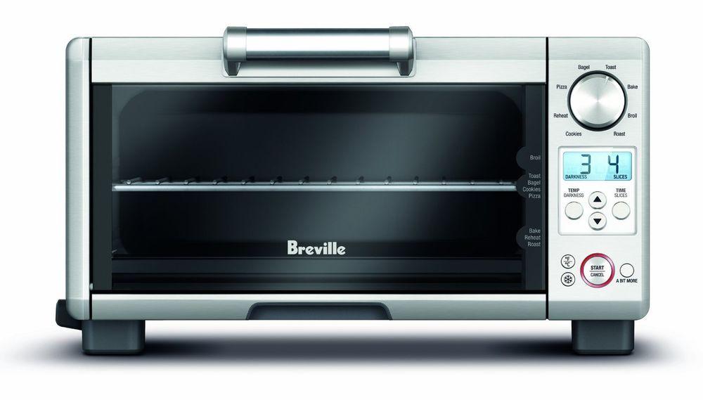 Breville Mini Smart Oven Element IQ Technology Small Kitchen ...