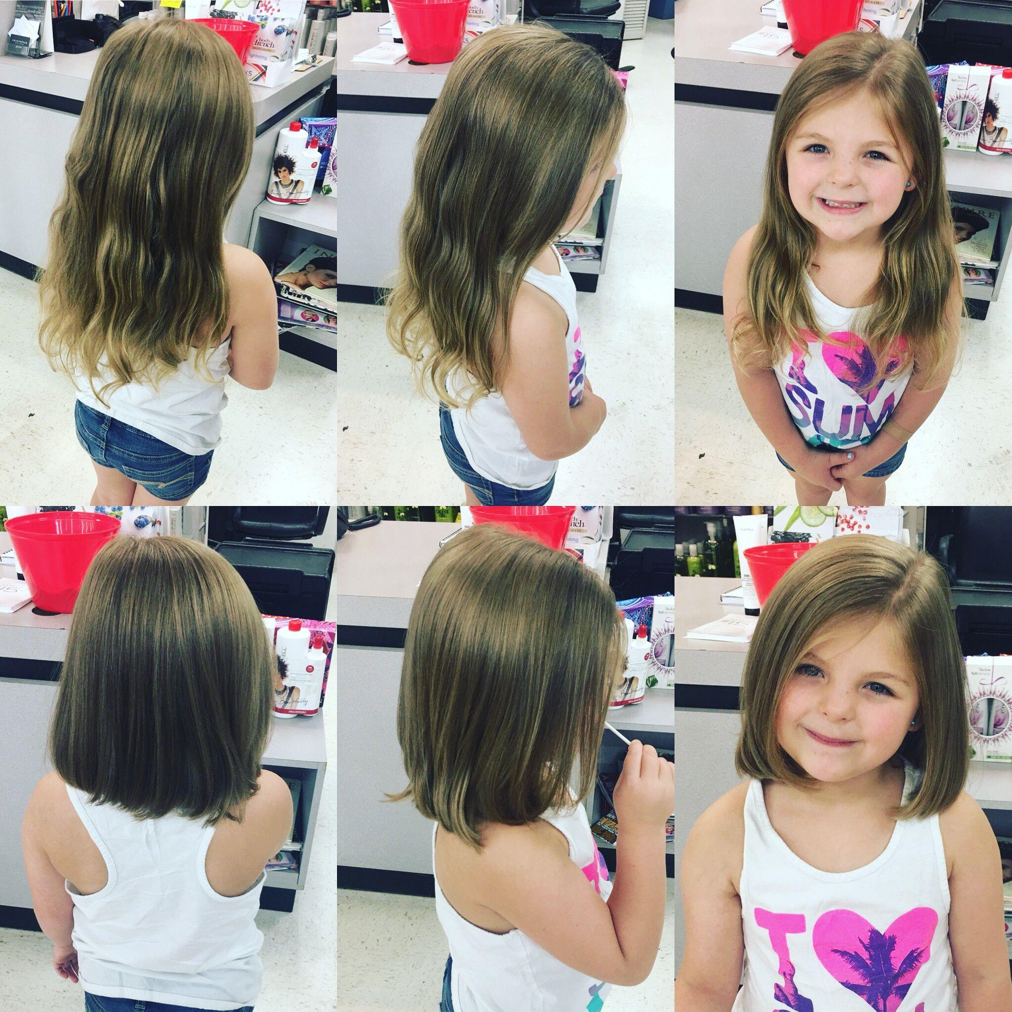 Medium Hair Cuts For Girls Kids