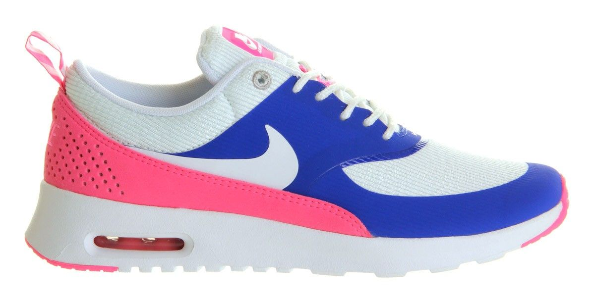 womens nike air max thea white pink