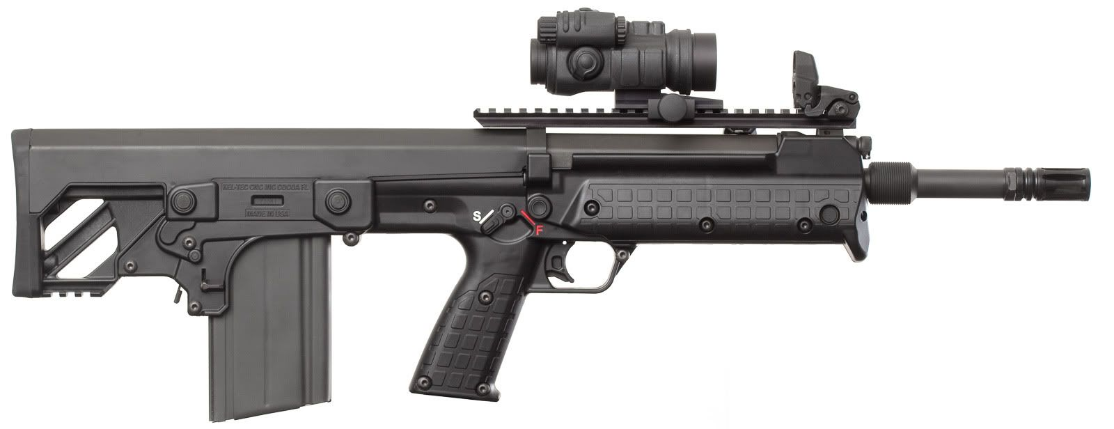 Kel Tec Rfb 308 Bullpup Rifle Looks Like An Updated Sa80