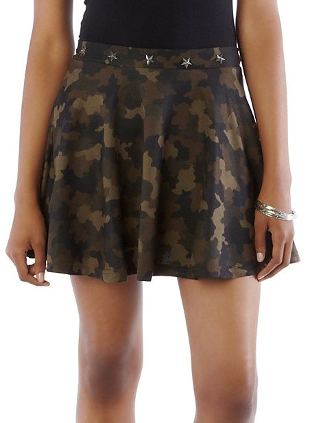 32b0812fd6f8 All I want is that skirt | My fashion | Skater skirt, Skirts, Camo