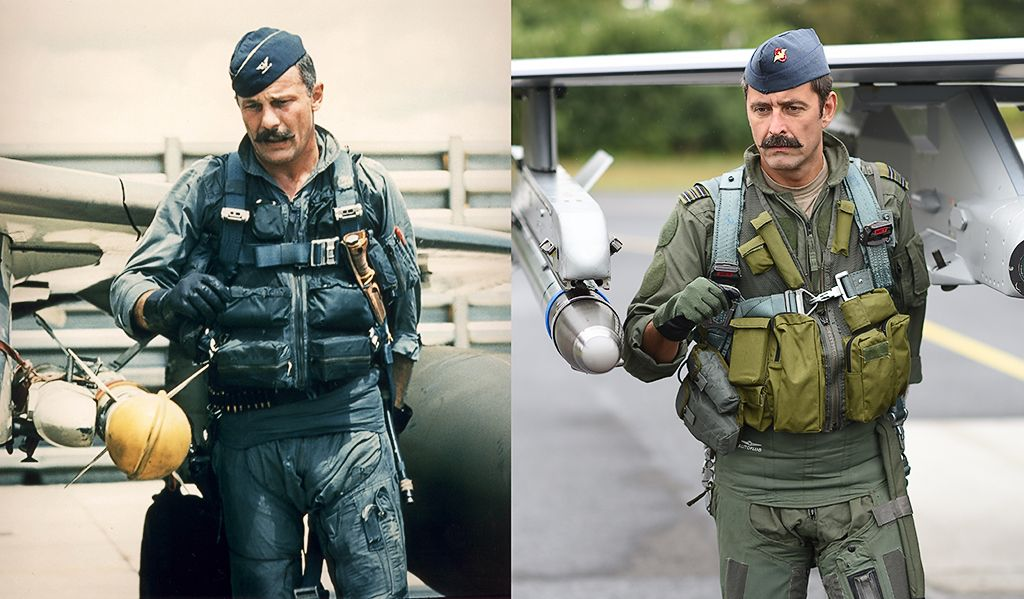 Danish F 16 Fighter Pilot Grows A Mustache To Honor A