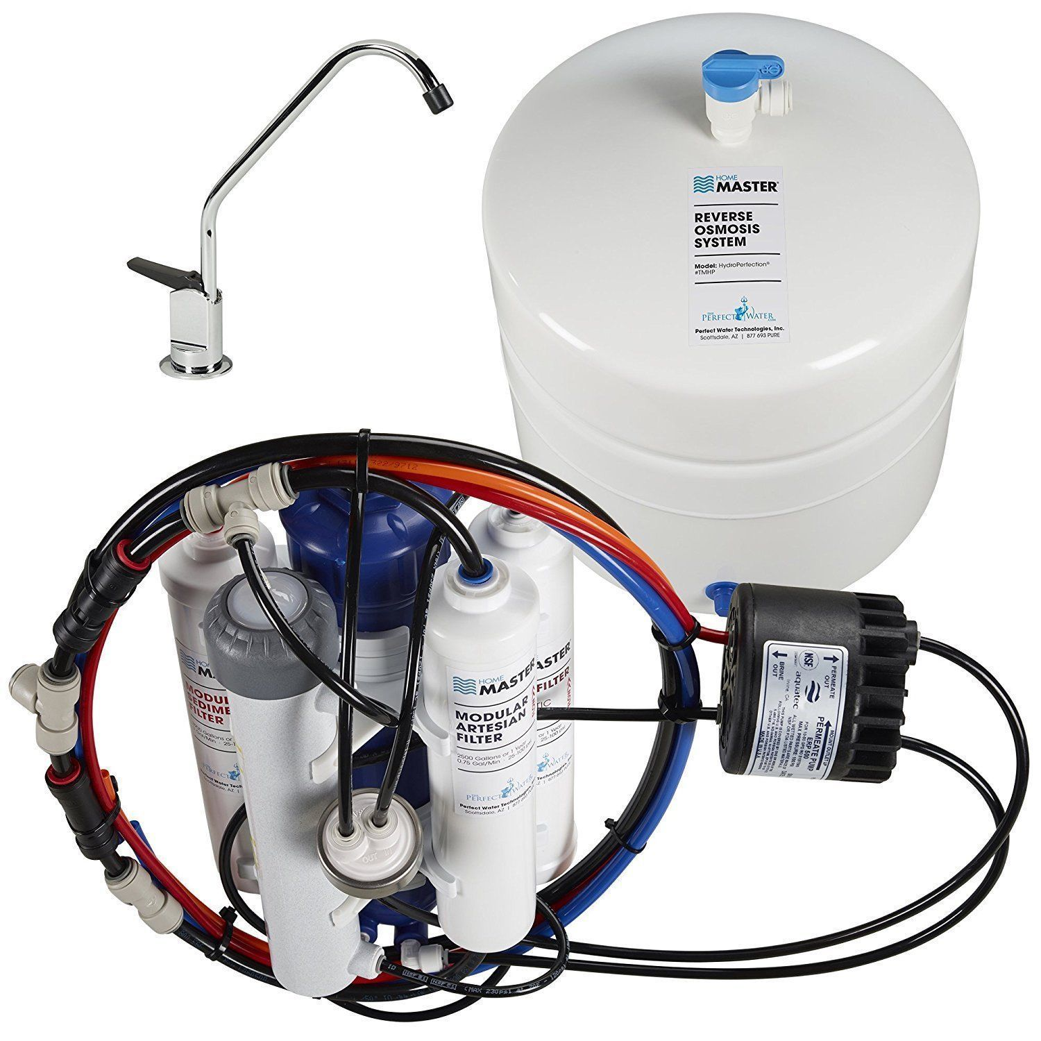Home Master TMHP HydroPerfection Undersink Reverse Osmosis