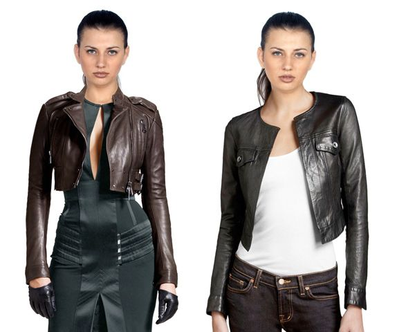 womens #leather #jacket | Online Leather Magazine | Leatherfads ...