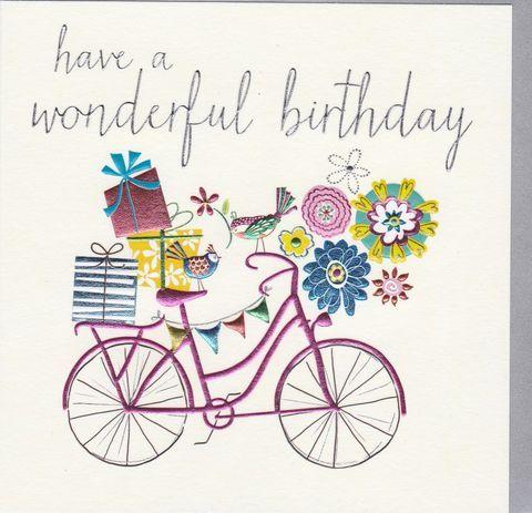 BicyclePresentsBirthdayCardbuy birthday card for her female – Birthday Cards for Her Funny