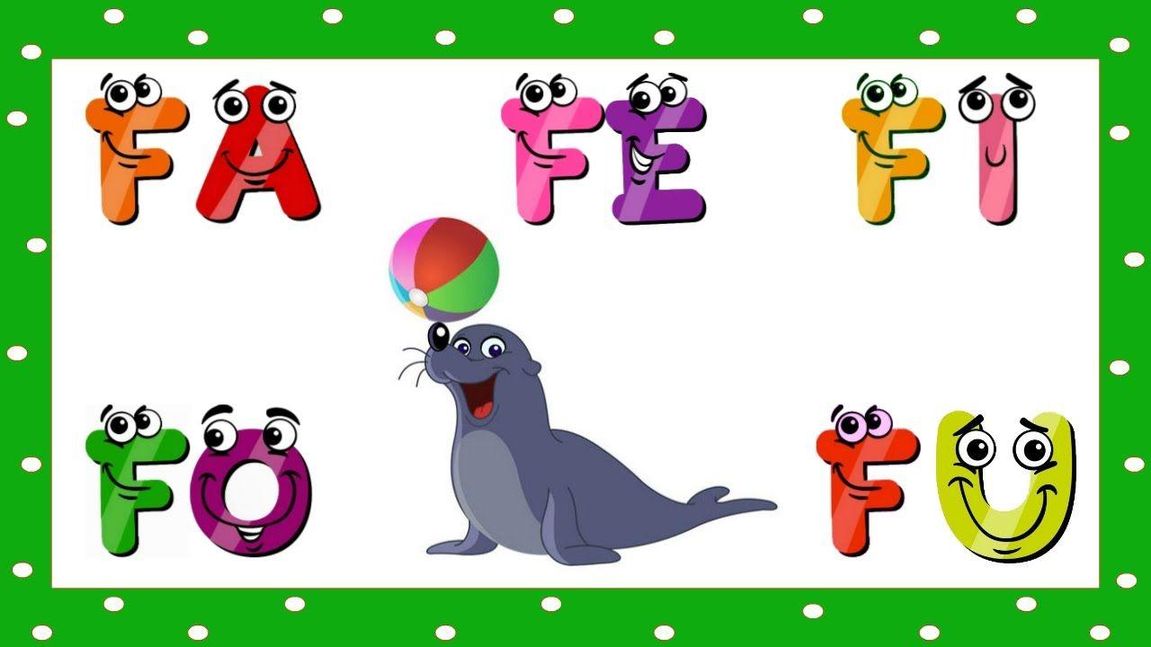 Video Educativo Infantil Alfabetizacao Fa Fe Fi Fo Fu