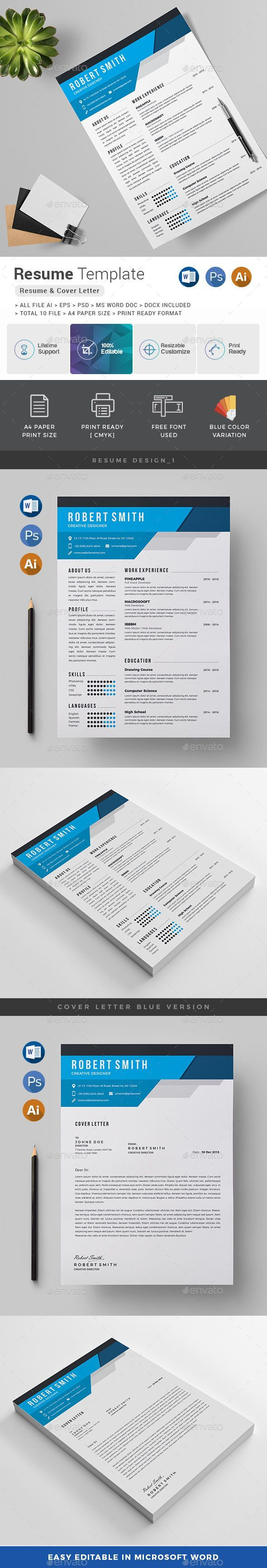 Resume Resumes Stationery (With images) Resume design