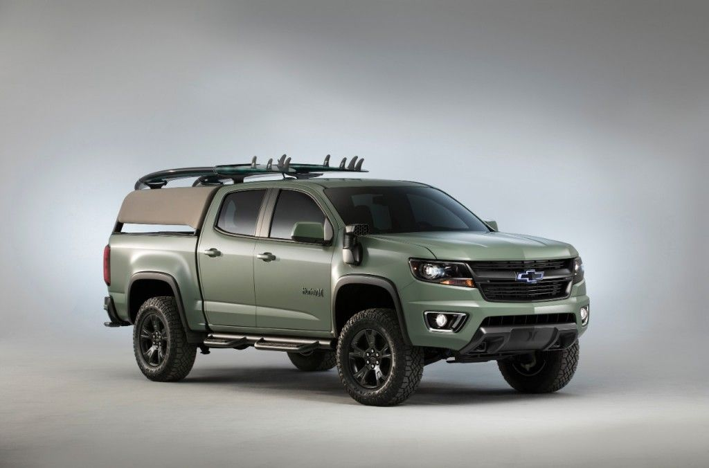 Sema 2016 Surf S Up With The Chevrolet Colorado Z71 Hurley Concept Chevrolet Colorado Chevrolet Colorado Z71 Chevy Colorado Z71