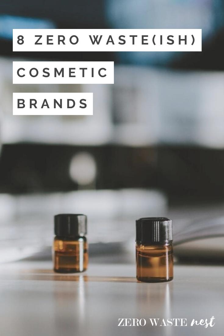 9 Zero Waste(ish) Beauty Brands in 2020 Cosmetics brands