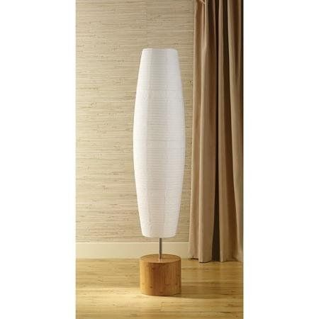 Mainstays Floor Lamp with Bamboo Finish Mainstays https://www ...
