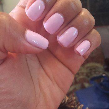 Pink Gel Nails Pink Gel Nails Gel Nails Pink Nail Designs