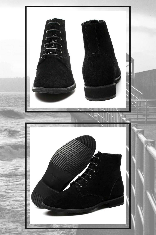 Buty Podwyzszajace Luca W Sam Raz Na Wietrzna Wiosne All Black Sneakers Sneakers Shoes