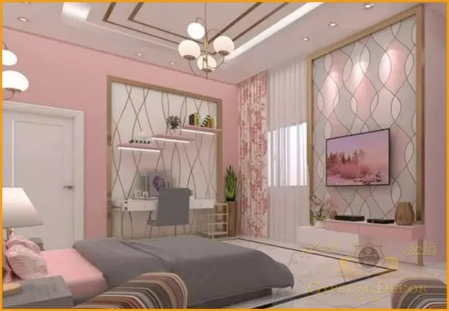 ديكورات غرف النوم للبنات Home Bedroom Decor Interior Design