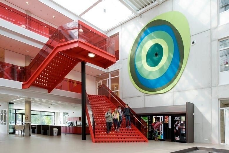 Csg Het Streek Modern Door Liag Architecten En Bouwadviseurs Modern Interior Stairs Building Architecture