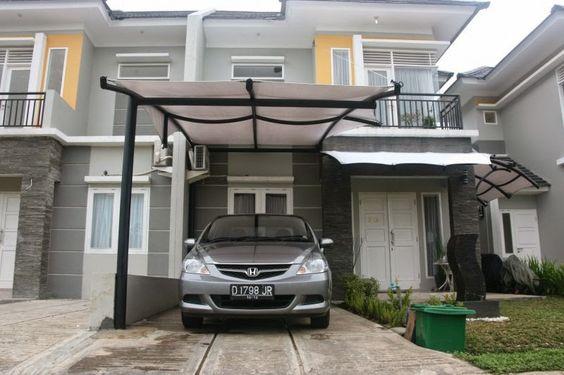 15 Model Garasi Mobil Minimalis Untuk Rumah Kecil Dan Mewah Di 2021 Rumah Minimalis Modern Rumah