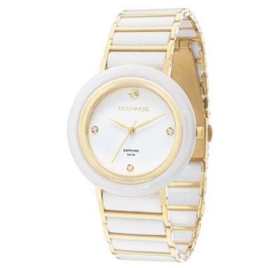 Relógio Technos Feminino Ceramic Sapphire   Relógio Feminino ... 71b10191a6