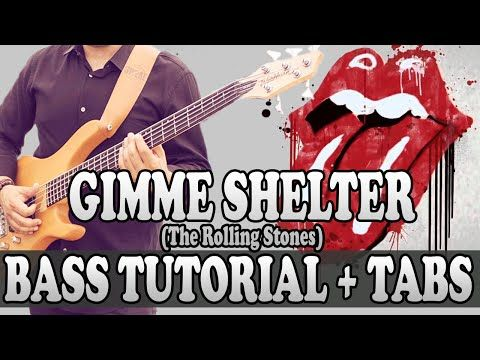 Gimme Shelter - Bass TUTORIAL (with tabs) - The Rolling Stones ...
