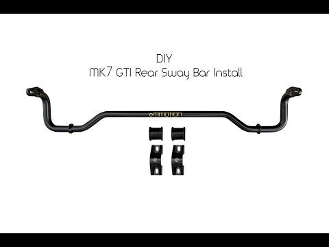 Emmanuele Design eMMOTION Volkswagen MK7 GTI Rear Sway Bar