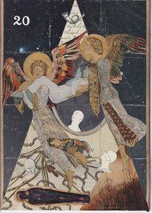 XX. Judgement - Goldenmoon Tarot by Elizabeth Aralia
