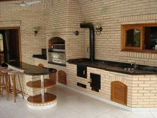 Outdoor Küche Holzofen : Outdoor küche holzofen: phantasievolle inspiration grill für outdoor