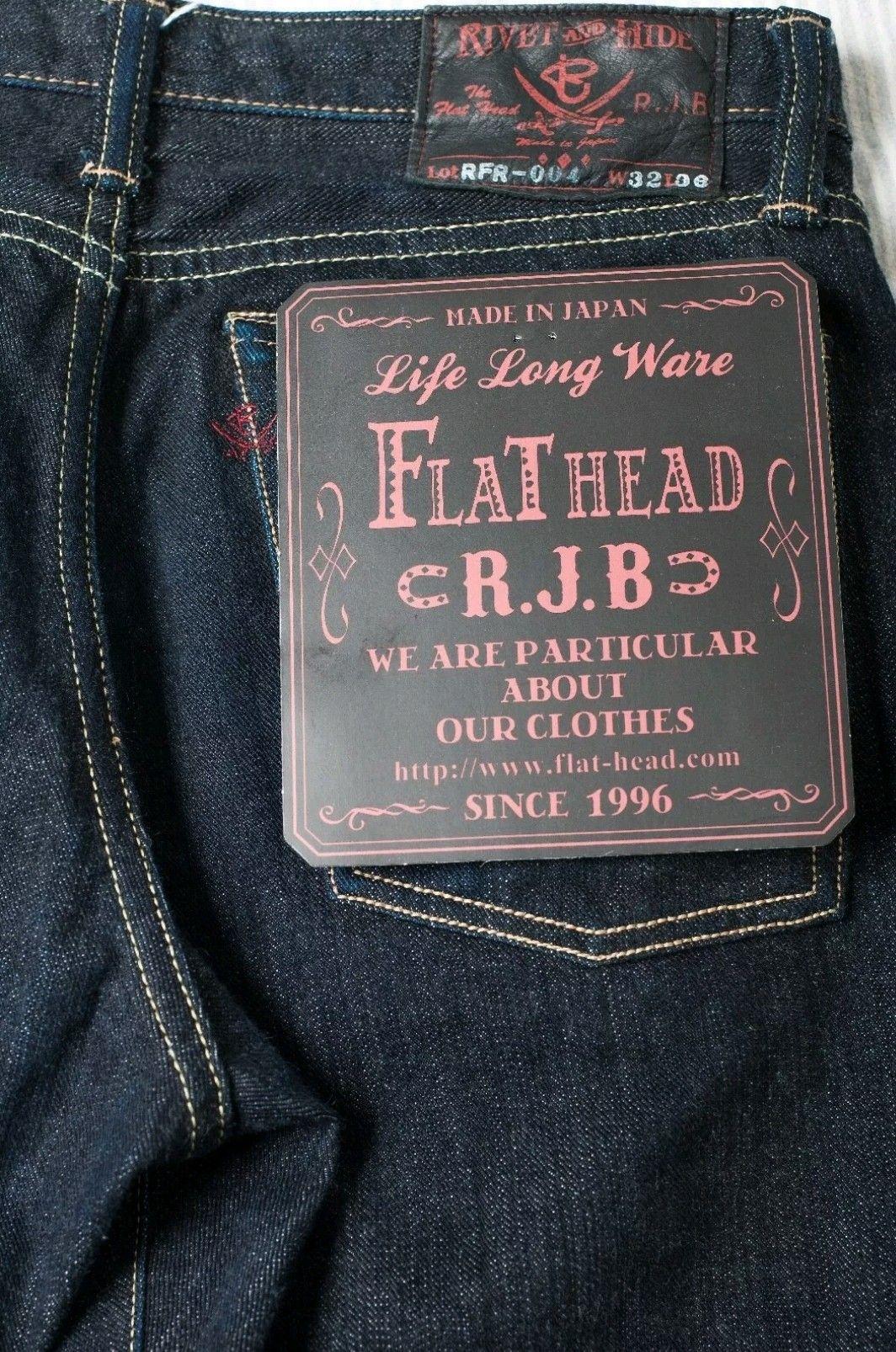 The Flat Head x Real Japan Blues x Rivet & Hide