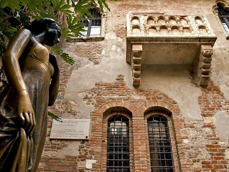 Juliet S Houseb In Verona The House Belonged To The Dal Cappello