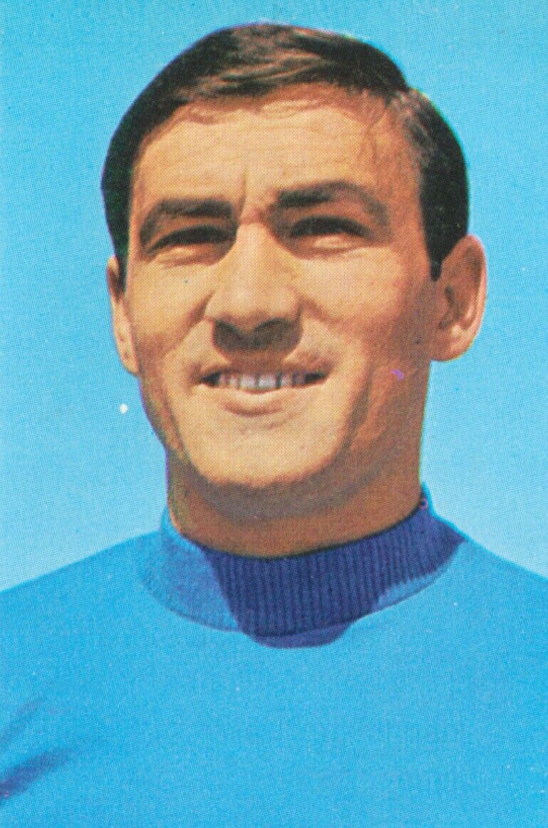 Tarcisio Burgnich of Italy 1970 World Cup Finals card