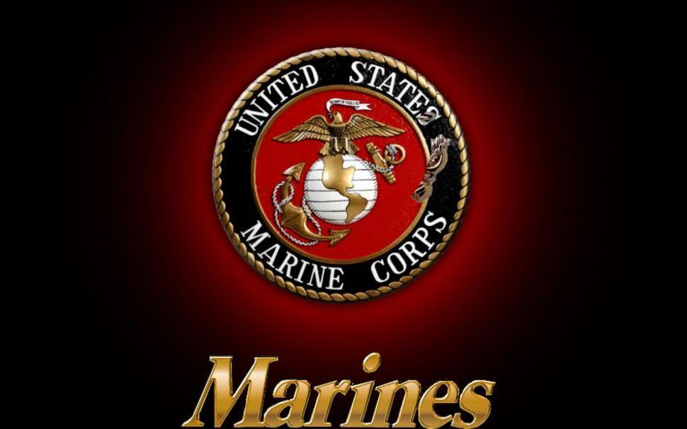 Usmc Logo Wallpaper Marines Logo Marine Corps Emblem Usmc Wallpaper