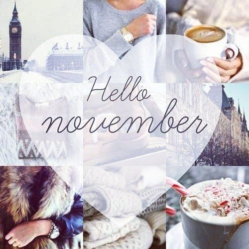 #HELLO #NOVEMBER ~ #GREETING : #Happy 1st Day Of #Nov TAGS: #goodbyeOctober  #fall #welcome #hiNovember #happy #autumn #wishes #hi #welcomeNovember  #month ...