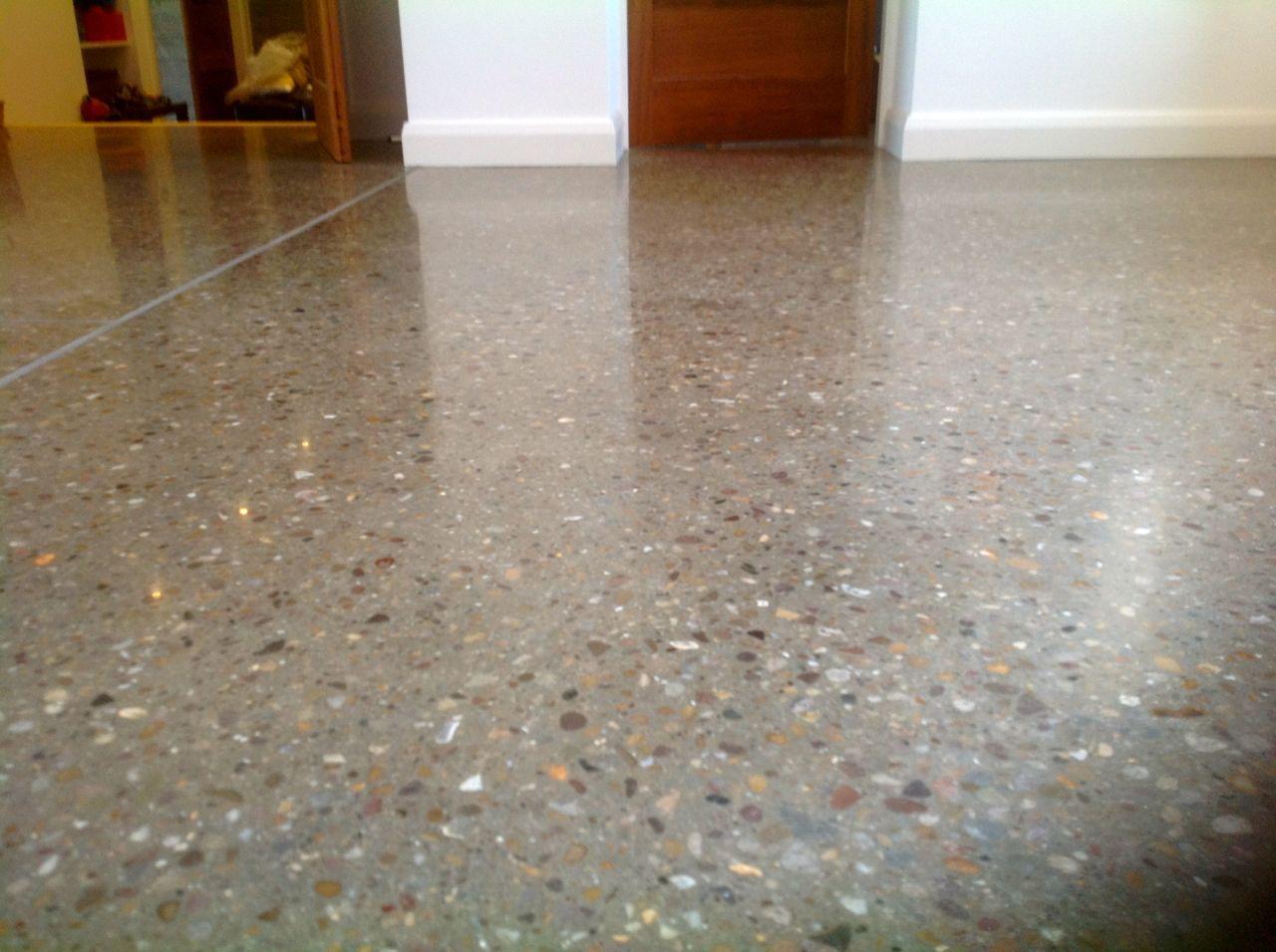 Cement Flooring Ideas | ... Concrete Floor On Grand Designs U2013 08 Polished  Concrete