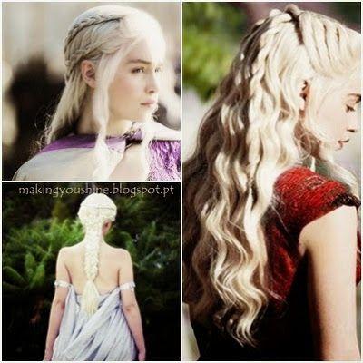 "Making You Shine: Daenerys ""Khaleesi"" e os seus cabelos"