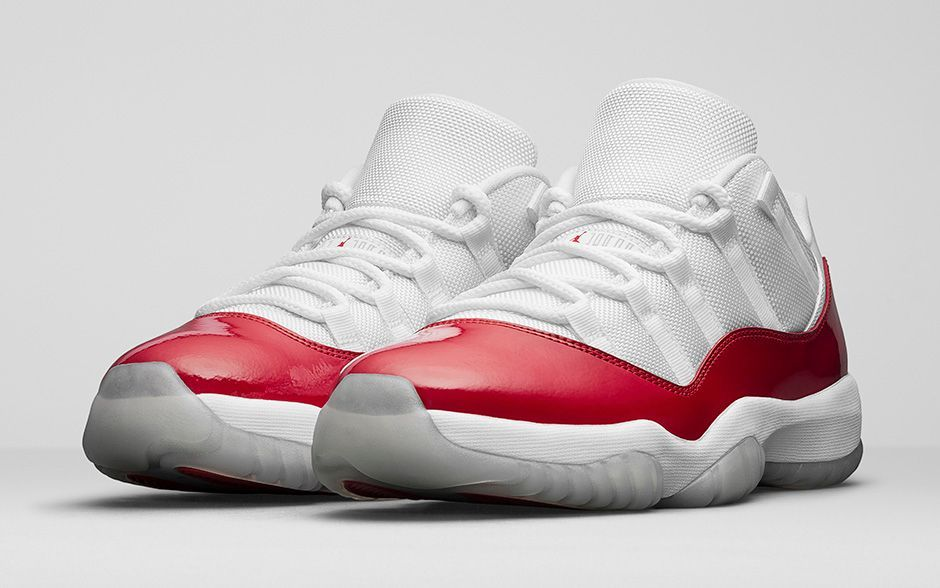 49c4d701756d Official Images Of The Air Jordan 11 Low Varsity Red