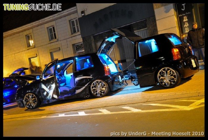 Lupo and a half! | Volkswagen, Car trailer, Custom trailers
