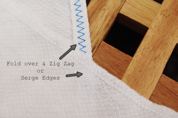 On One Hand: Unfinished Projects, Take 1: Paperless Towels (and Tutorial!)