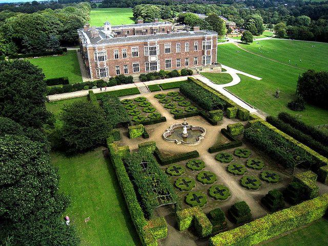 Temple Newsam 4 Angleterre Le Jardin Et Jardins