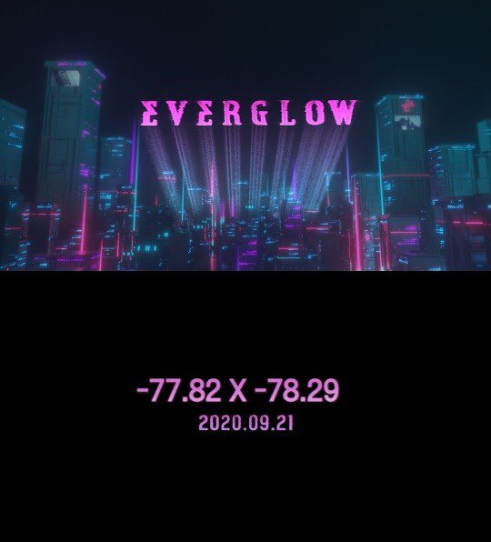 EVERGLOW OFFICIAL on Twitter