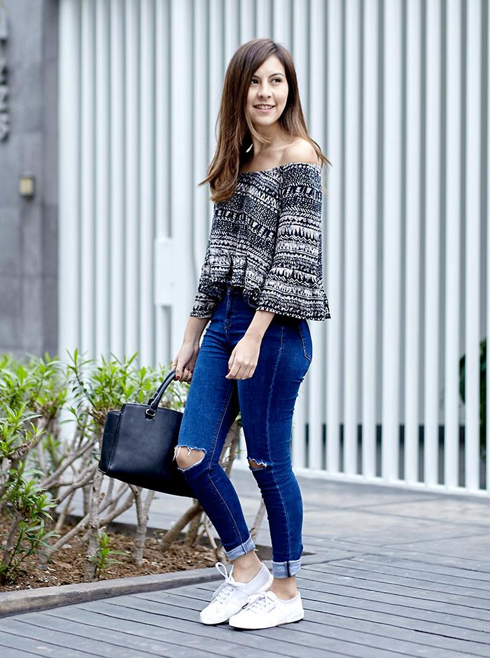 4 Formas De Llevar Una Blusa Setentera Outfits Fashion Style