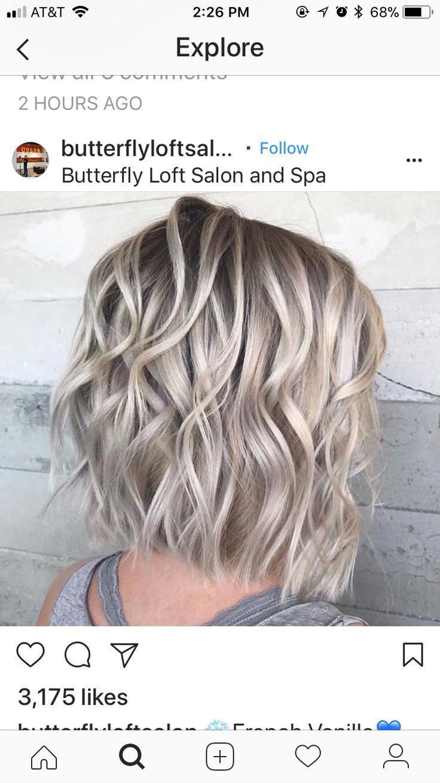 Haare frisuren blonde halblange Bob Frisur