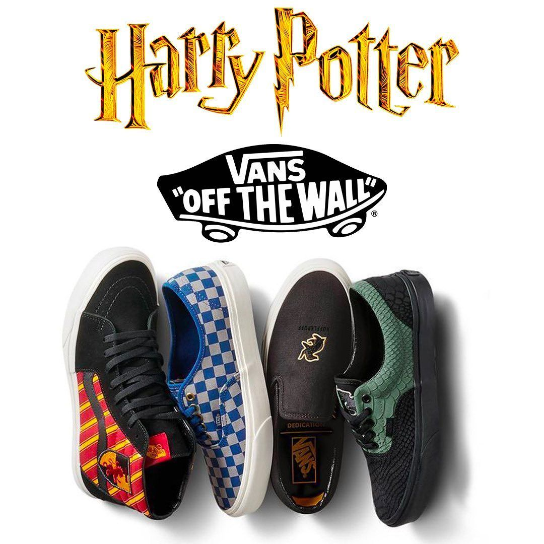 Harry Potter x Vans preview, the full collection will also