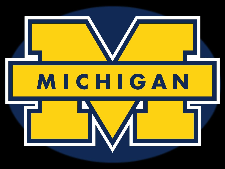 Michigan Football Michigan Wolverines Football University Of Michigan Logo Michigan Football Michigan Wolverines Football