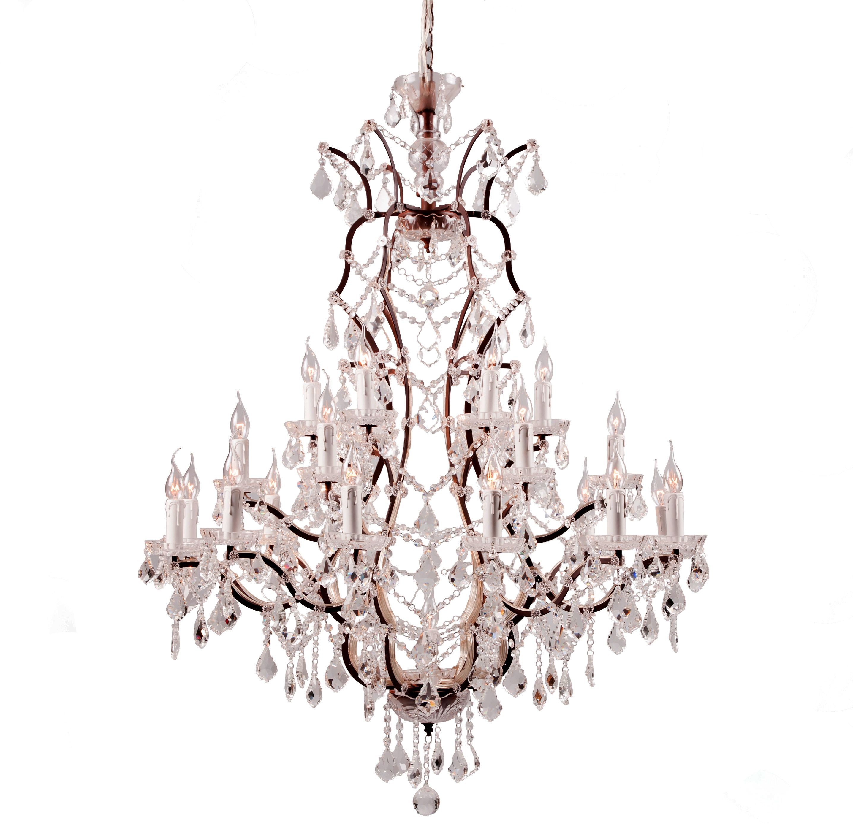 The Crystal Lighting Collection by Timothy Oulton is inspired by