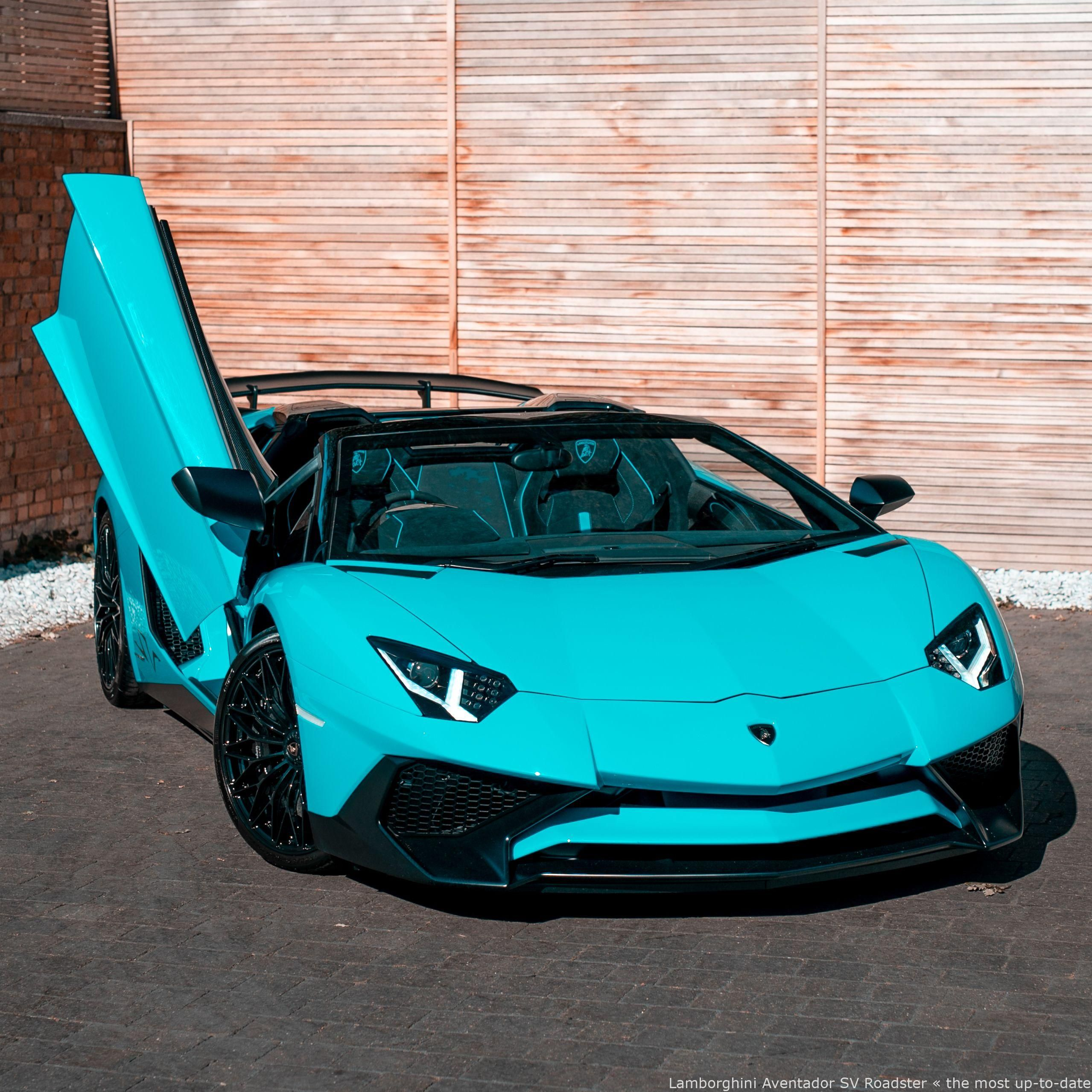 #Cars - Lamborghini Aventador SV Roadster – incredible