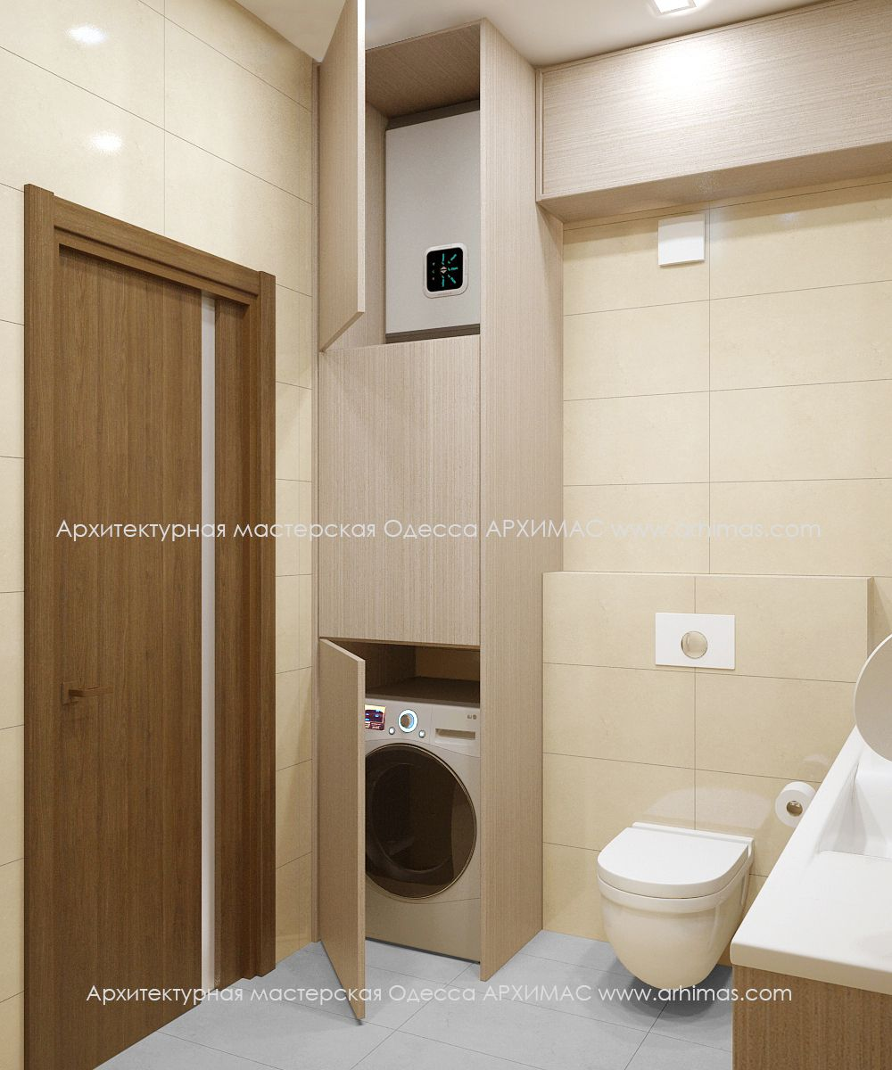 Pin fotini ps bathroom badezimmer bad waschmaschine - Schmales badezimmer ...