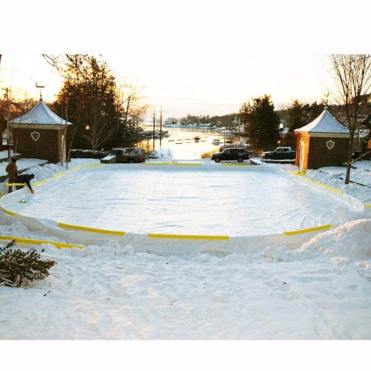 NiceRink NRCS Backyard Ice Rink Liner X Backyard Ice - Backyard ice rink liners