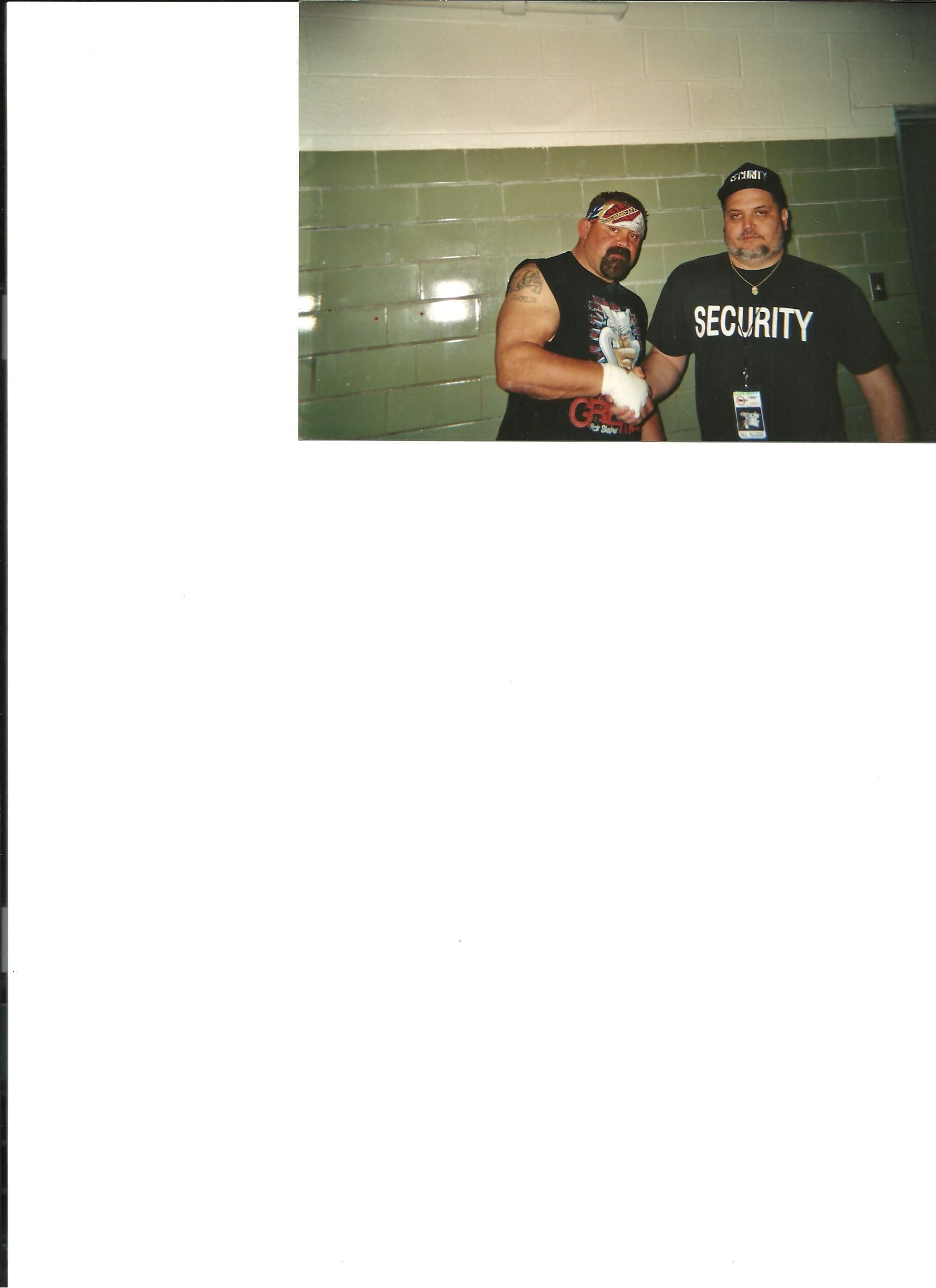 fugitive recovery expert and security agent this is my