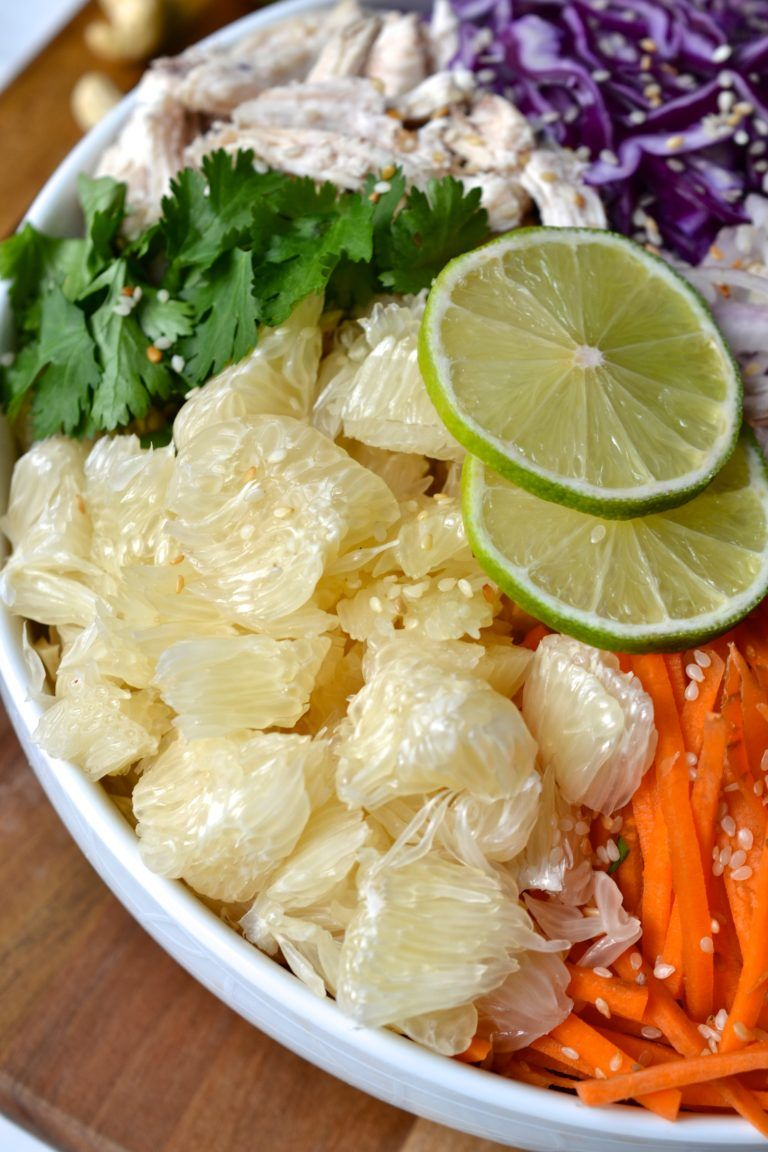 Chicken Pomelo Salad Resep