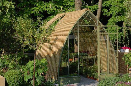 Serre de jardin / en fer PETITE POTAGÈRE SERRES ET FERRONNERIES D - meuble en fer design